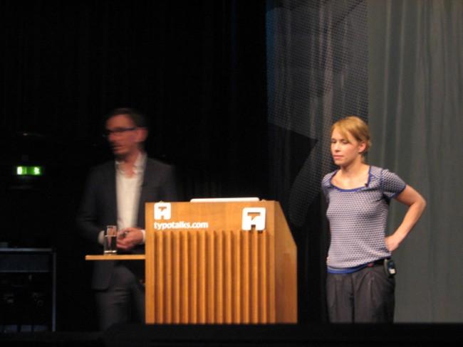 Nancy Birkhölzer und Reto Wettach von IxDS