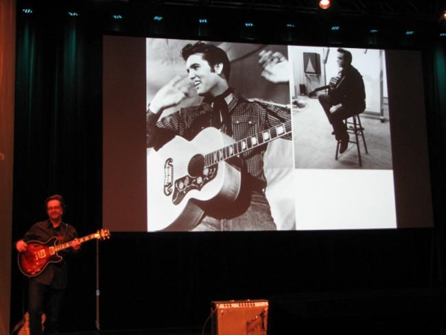 Durch die Musik- und Grafikjahrzehnte mit Michael Johnson