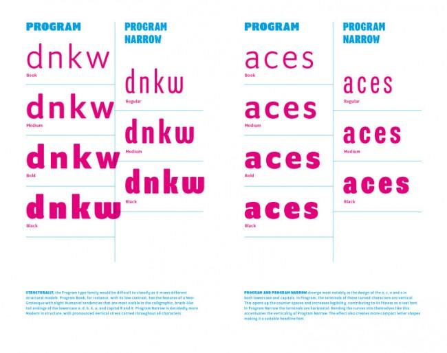 Program von Zuzana Licko