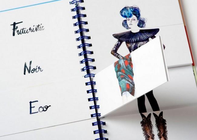 Lucille Clercs »Flip Fashion«, erschienen bei Laurence King, London