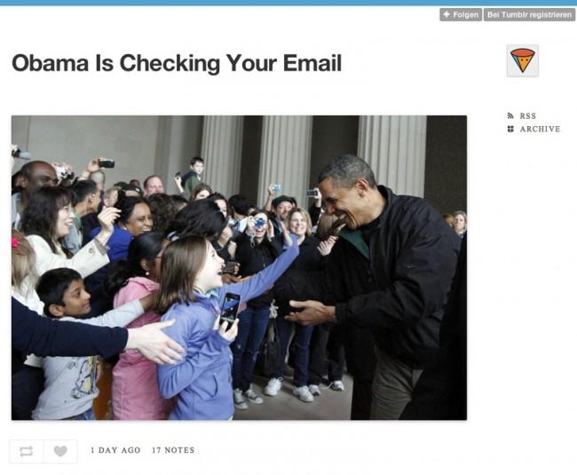 http://obamaischeckingyouremail.tumblr.com/