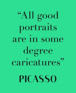 Stimmt auf jeden Fall bei Pablo Picasso