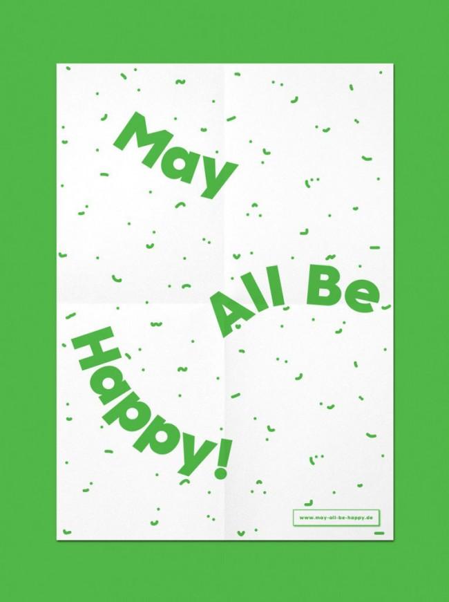 Erscheinungsbild »May all be happy«