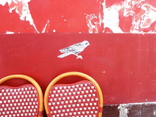© Amelange, aus der Serie Wilde Tiere in Paris: Faucon (Falke)