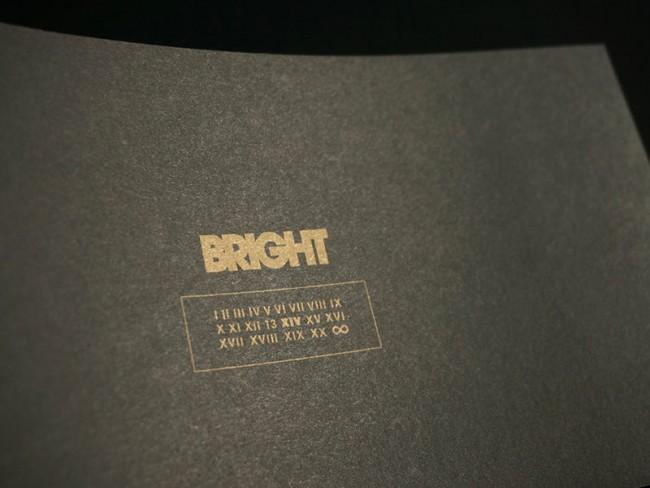 Corporate Design Bright Tradeshow, Einladungskarte Bright XIV, 2012
