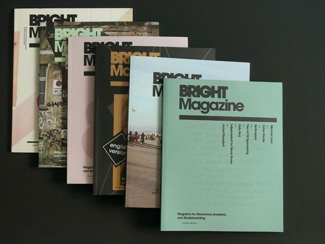 Art Direction Bright Magazine, 2009 - 2012