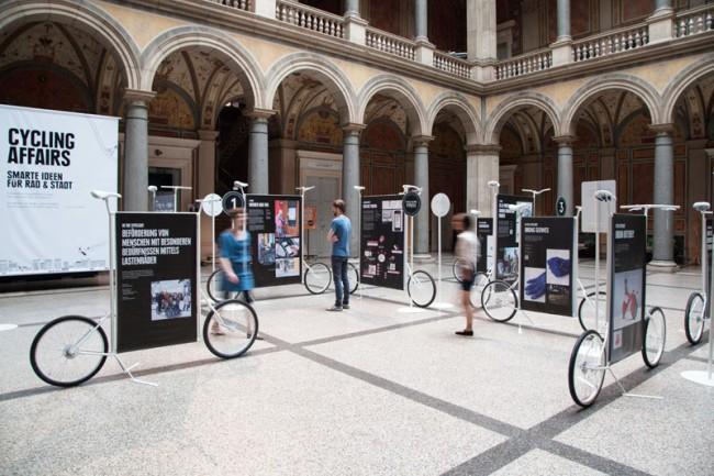 Cycling Affairs Ausstellung im MAK
