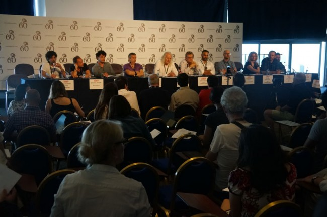 Pressekonferenz des Who is Who der Cannes Lions