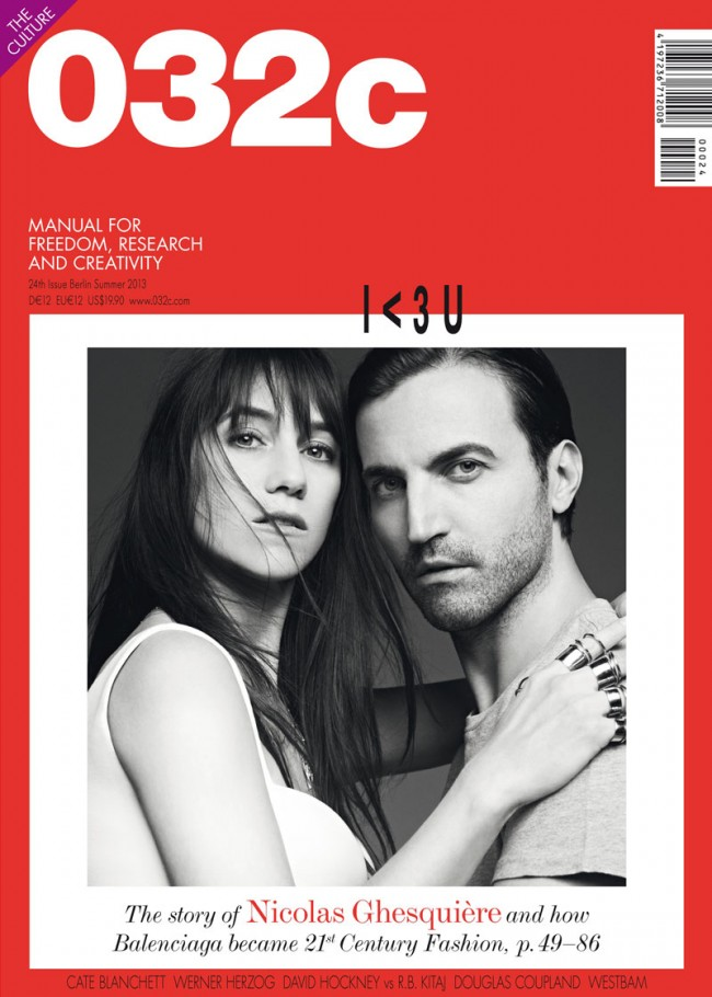 Cover »032c«, issue no. 24