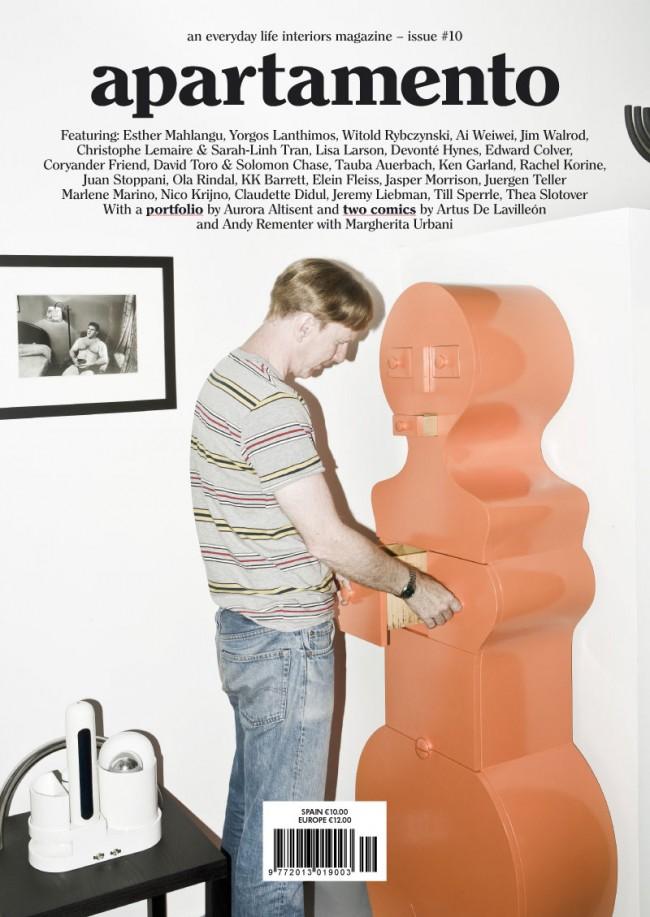 Cover »Apartamento«, issue no. 10