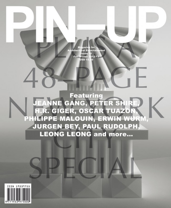 Cover »PIN-UP«, issue no. 12