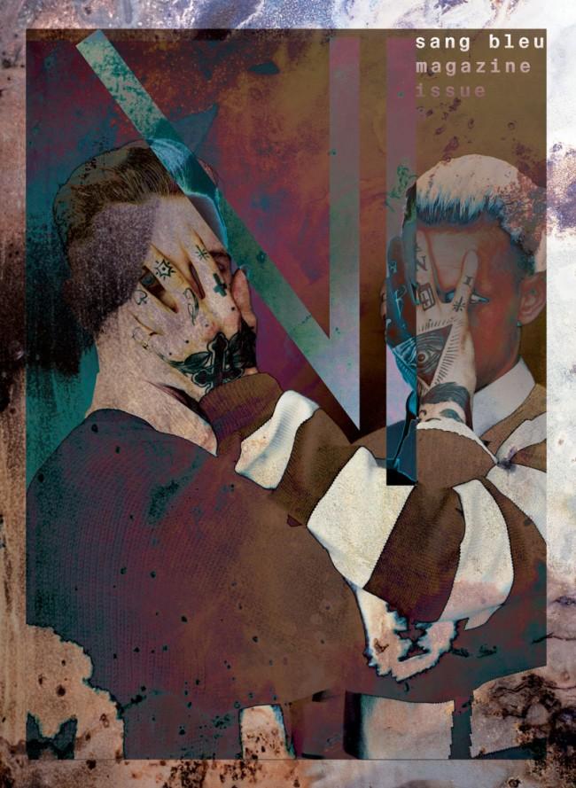 Cover »Sang Bleu«, issue no. 13