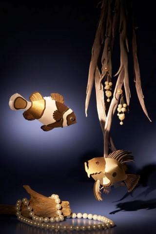 Fische aus Papier, Fotograf: Heidi Fröhlich