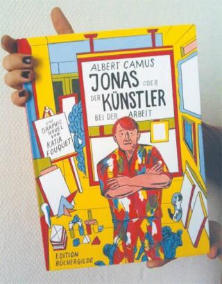 Jonas oder Künstler bei der Arbeit