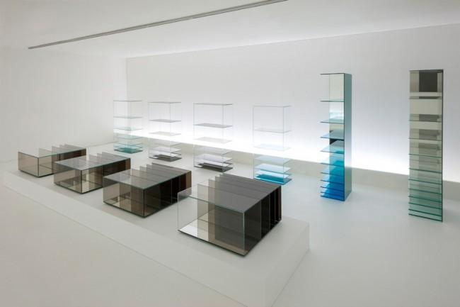 Nendo - Deep Sea (Glassworks exhibition at Dilmos Milan, 2013)
