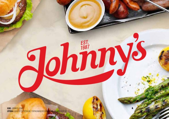 Johnnys Mustard Logotype