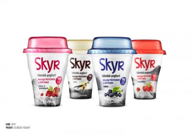 Skyr Packaging Design