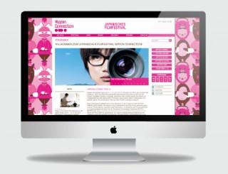 Website für das Filmfestival Nippon Connection 2013