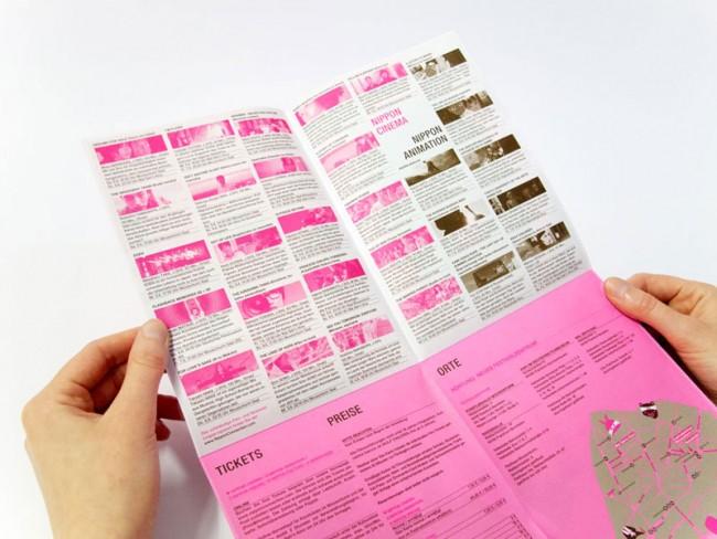 Faltplakatdetail für das Filmfestival Nippon Connection 2013