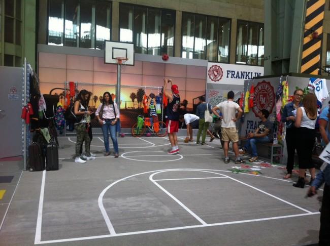 Franklin & Marshall lässt Basketball spielen