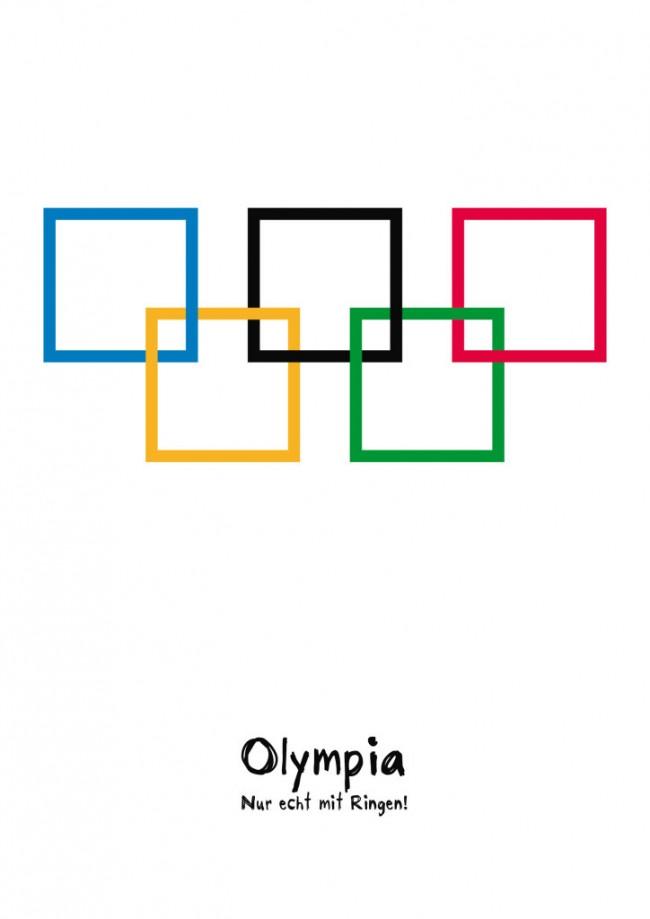 Olympia – Nur echt mit Ringen!