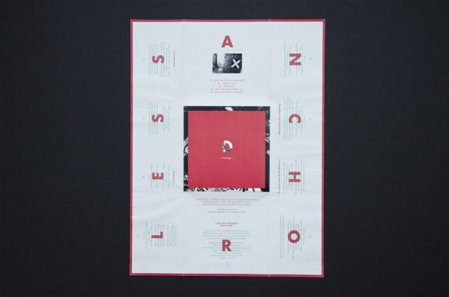 Konzept und Gestaltung der EP »Anchorless« für den Musiker Domingo