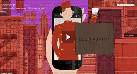 Bild Louis Vuitton Animation