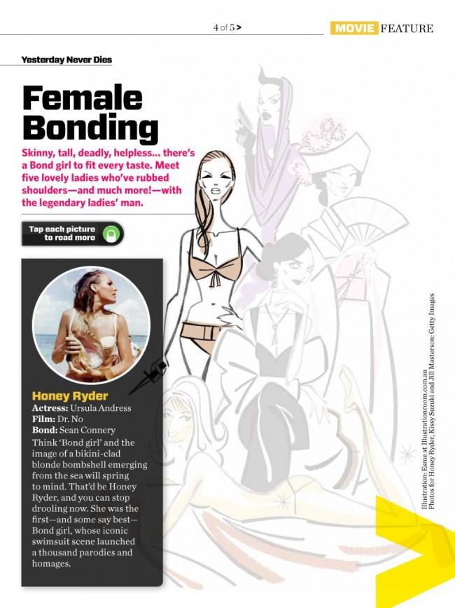 Illustrationen von Esme für das Magazin »Telescope«, The Illustration Room