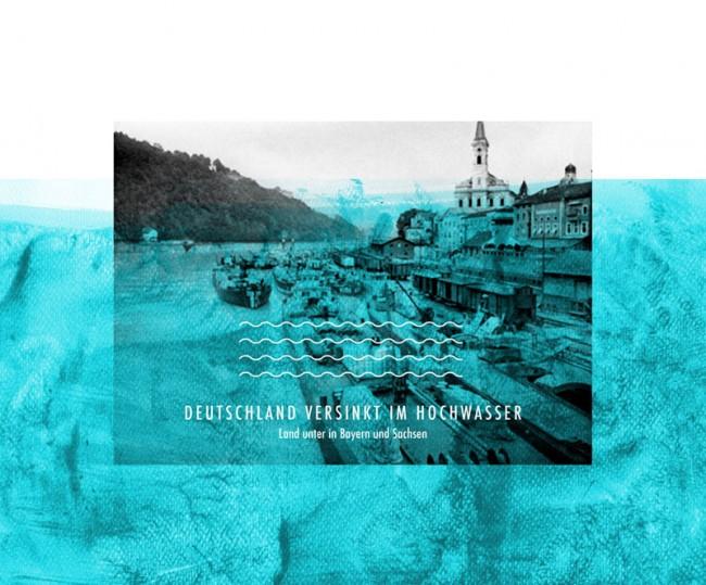 DEUTSCHLAND VERSINKT IM HOCHWASSER Land unter in Bayern und Sachsen