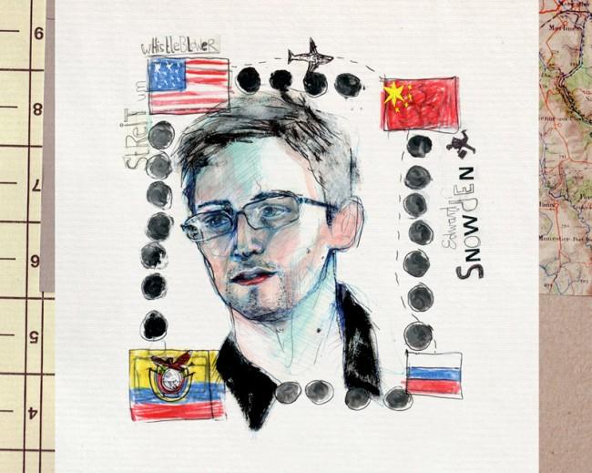 GEHEIMDIENSTVERRAT Streit um whistleblower Edward Snowden