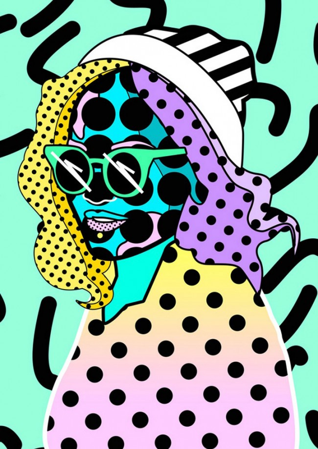 Poster-Serie für HUNGER TV: Rita Ora