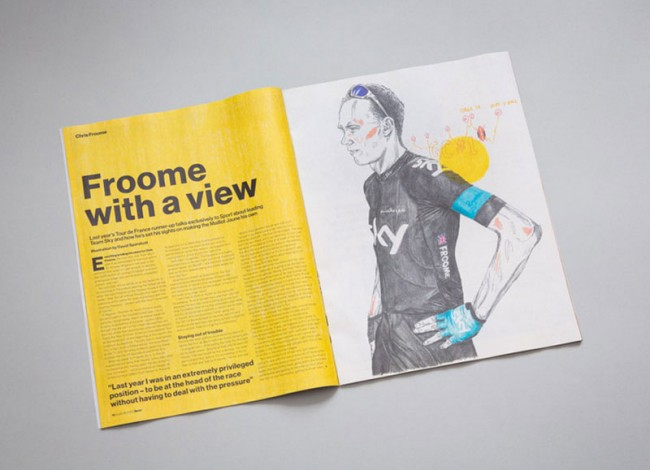 David Sparshott, Illustrationen für das Magazin »Sport«