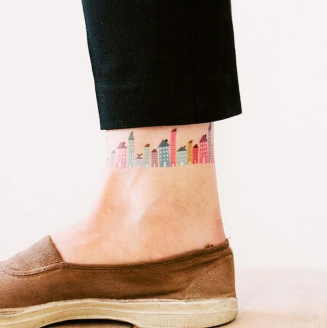 Judy Kaufmann, temporäres Tattoo für Tattly.com