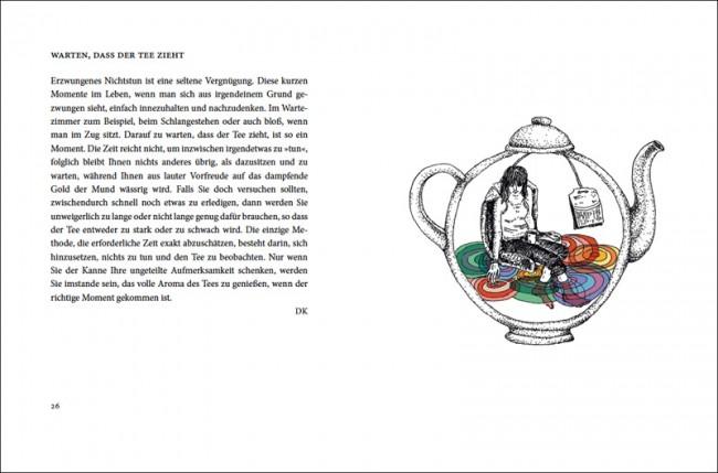 Illustrationen von Stephanie F. Scholz für »Das Buch der hundert Vergnügungen«