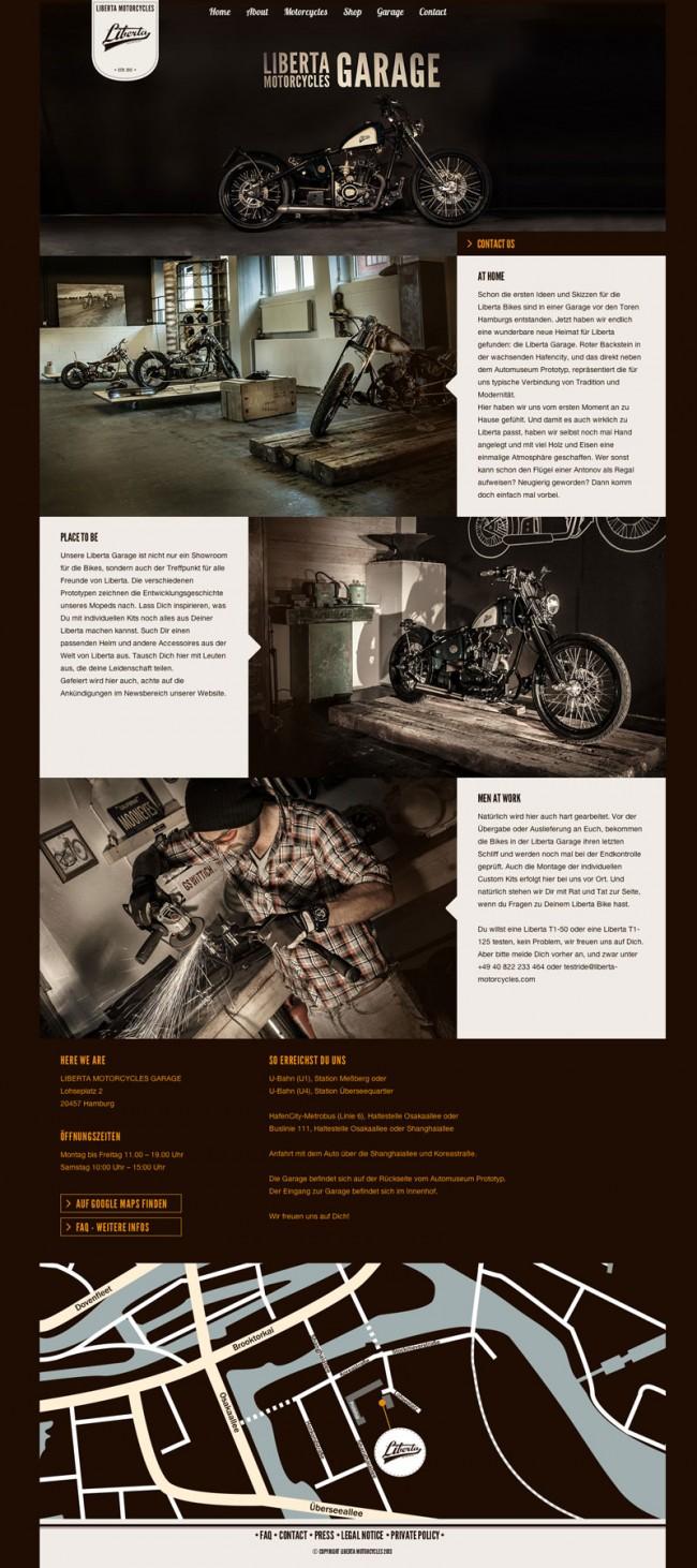 Website »Garage«
