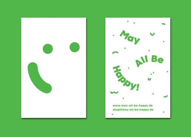 Corporate Design für den May All Be Happy!-Shop