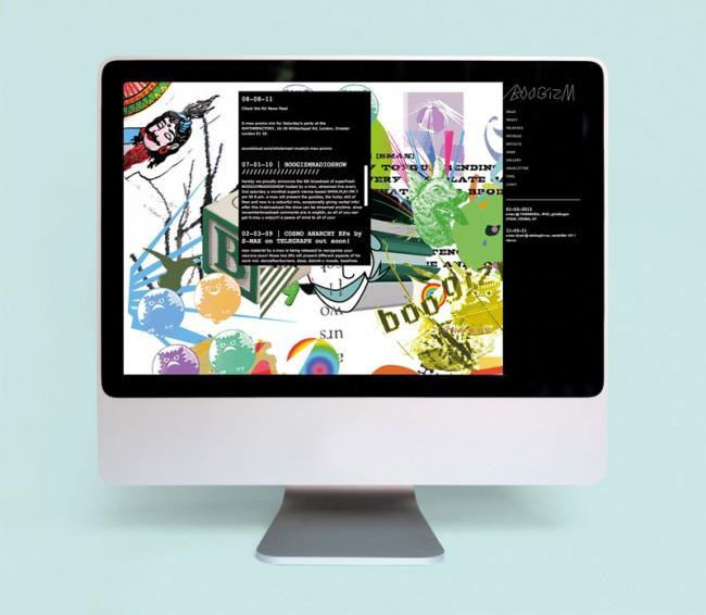 Corporate Design für das experimentelle elektronische Musiklabel Boogizm