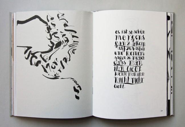 »Tintentanz«: ein Buch über das Kalligrafiekonzept von Hans-Jürgen Willuhn, 2012 erschienen im Verlag Hermann Schmidt Mainz