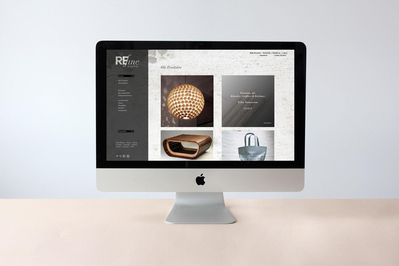 REfine_Webseite