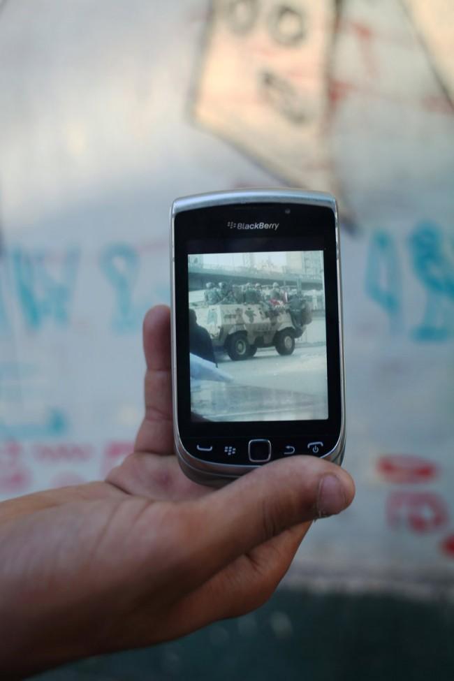 BlackBerry   Kairo, 2012   Foto: Myriam Abdelaziz