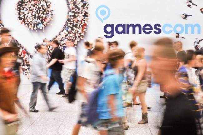 Impressionen von der gamescom 2012, Boulevard, B-to-B-Wand