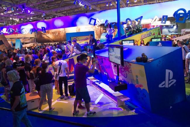 Impressionen von der gamescom 2012, Stand Sony