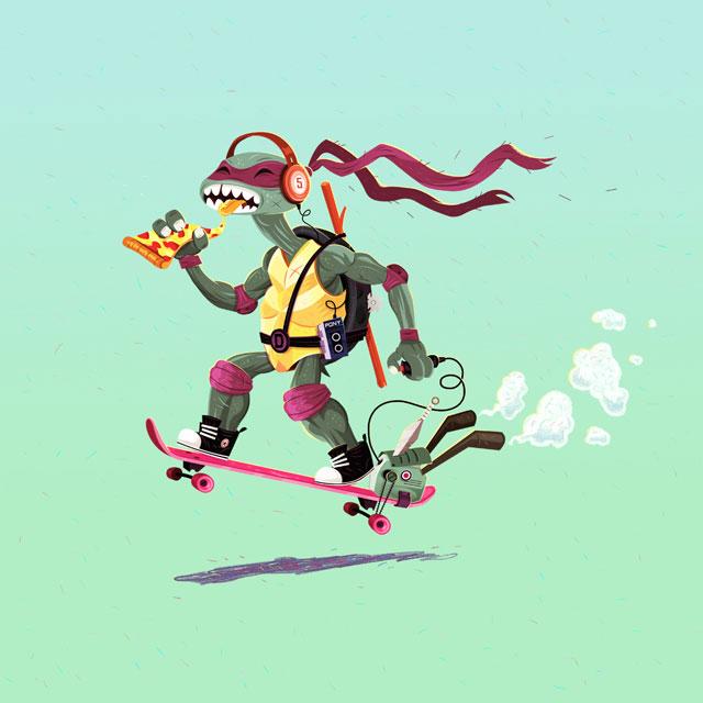 Donatello – Freie Arbeit. 2012