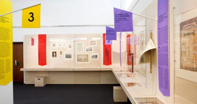 Ausstellungsgestaltung »Fest verankert – Erinnerungsort Gutenberg-Denkmal« im Gutenberg-Museum Mainz