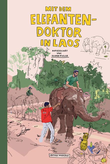 Bild Olivier Kugler Elefantendoktor