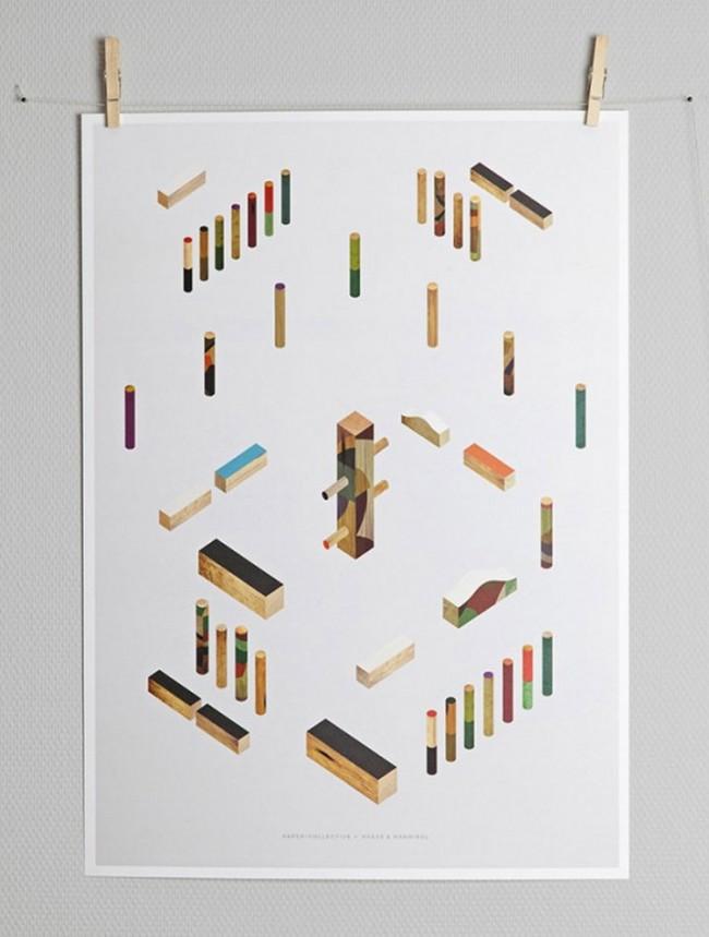 Das »Wrap«-Motiv als Poster
