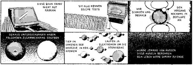 »Telekolleg« von Sascha Hommer, aus »Strapazin« Nr. 112, September 2013