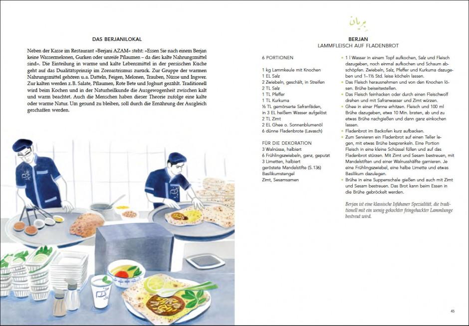 Gabi Kopp, Das persische Kochbuch, Verlag Jacoby & Stuart