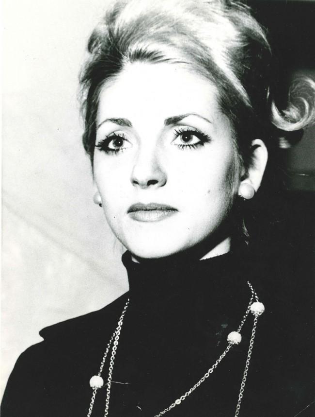 Eveline als Achtzehnjährige, 1963 (Privatfoto)