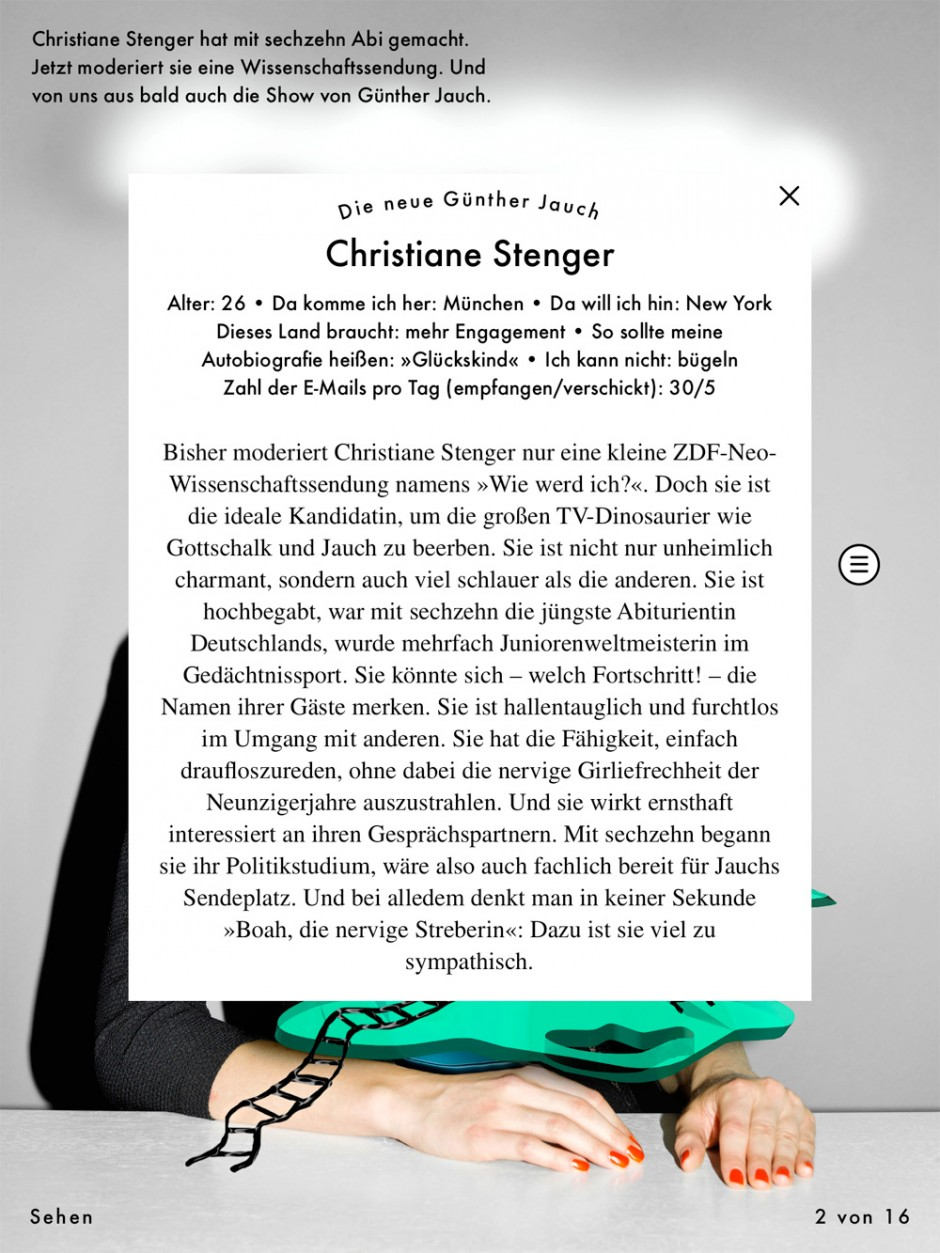 »Neon« Oktober 2013, App-Ausgabe